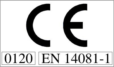Logo marcatura CE per segheria ILT