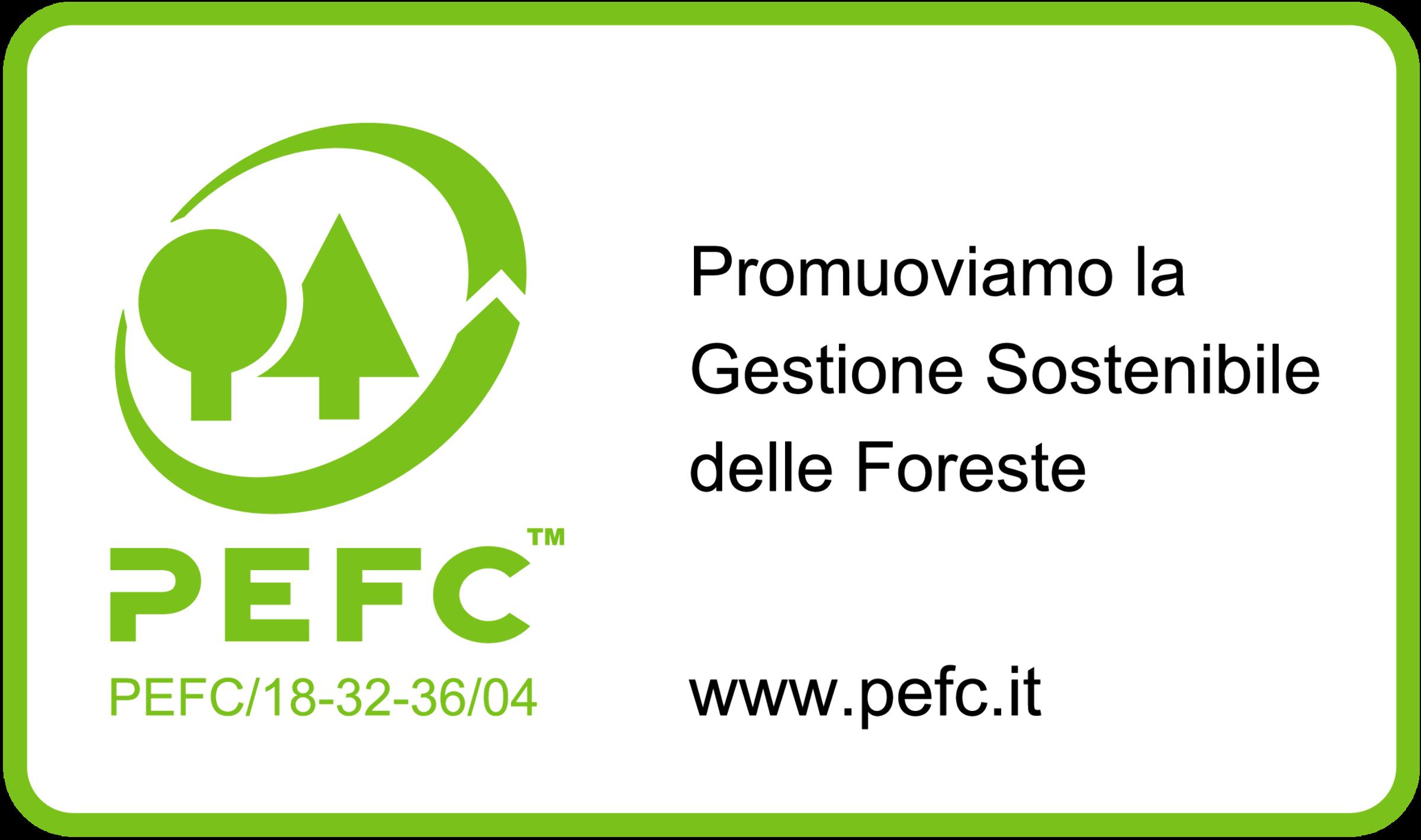 Logo certificazione PEFC - ILT