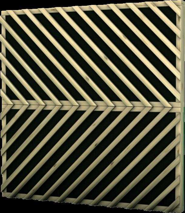 Barriera antirumore in legno di pino nordico impregnato o larice e lana di roccia realizzato da Linea Montanalegno - ILT