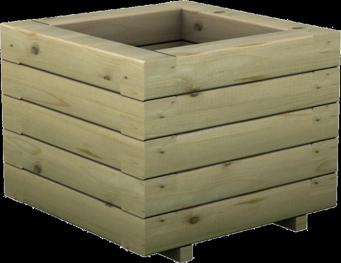 Fioriera Gardenia in legno di pino realizzata da Linea Montanalegno - ILT