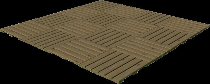 Pavimentazione in legno di pino nordico impregnato o larice realizzato da Linea Montanalegno - ILT