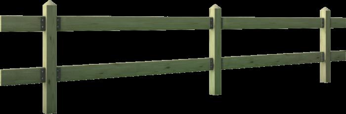Recinzione in legno di pino nordico impregnato o larice realizzato da Linea Montanalegno - ILT