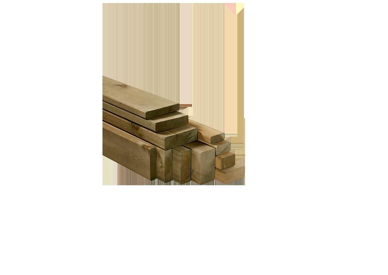 Tavola in legno di pino nordico impregnato in autoclave realizzato da Linea Montanalegno - ILT